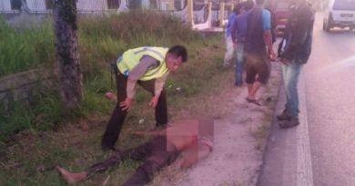 Diduga Tabrak Lari, Monang Tambunan Ditemukan Tewas Tergeletak di Pinggir Jalan