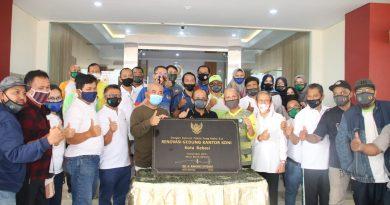 Usai Direnovasi, Wali Kota Resmikan Gedung KONI Kota Bekasi